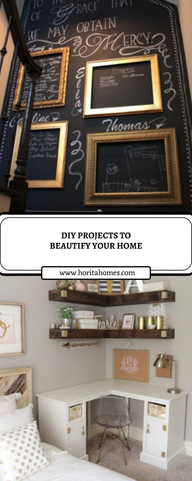 DIY PROJECTS TO BEAUTIFY YOUR HOME
