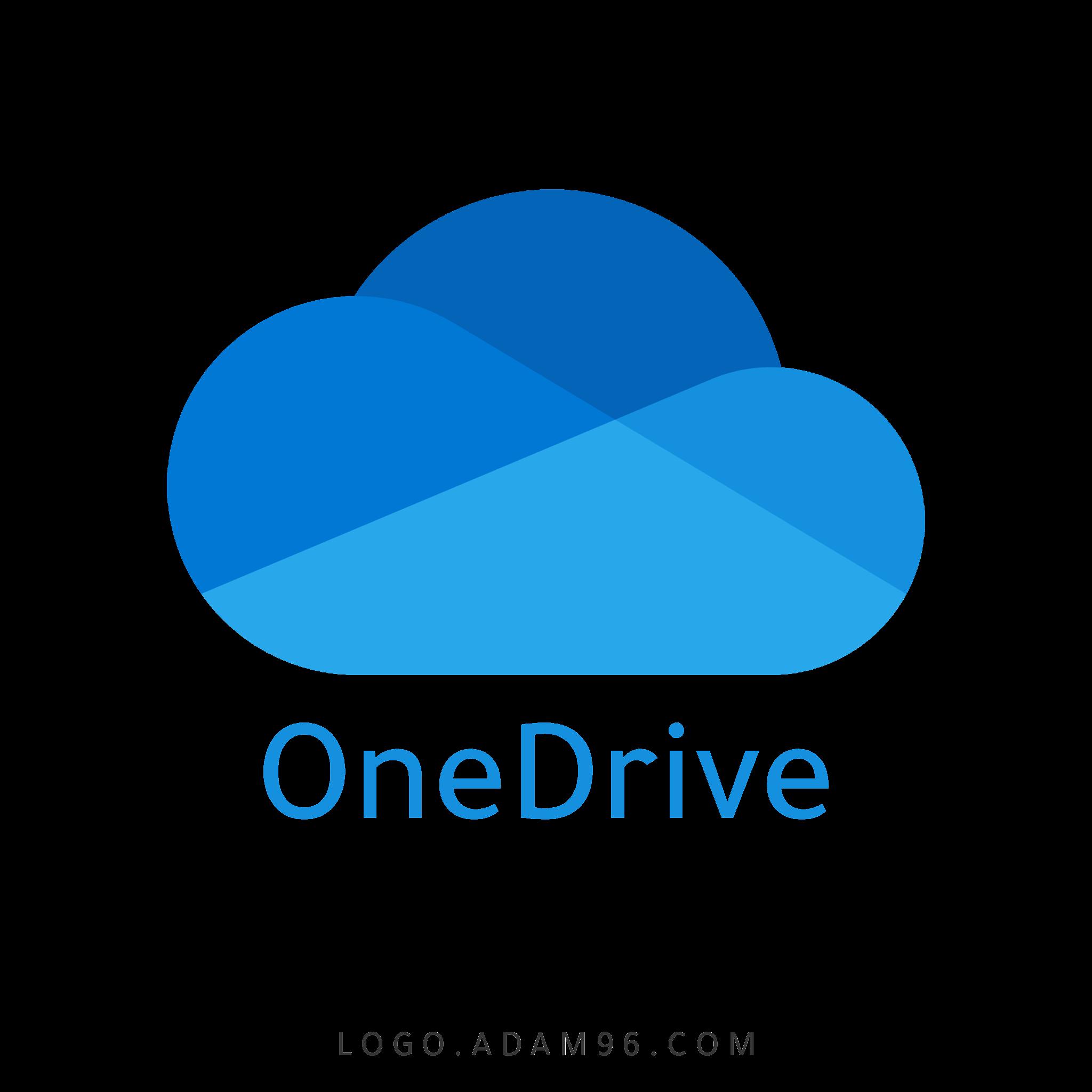تحميل شعار مايكروسوفت ون درايف لوجو شفاف عالي الدقة Logo OneDrive PNG
