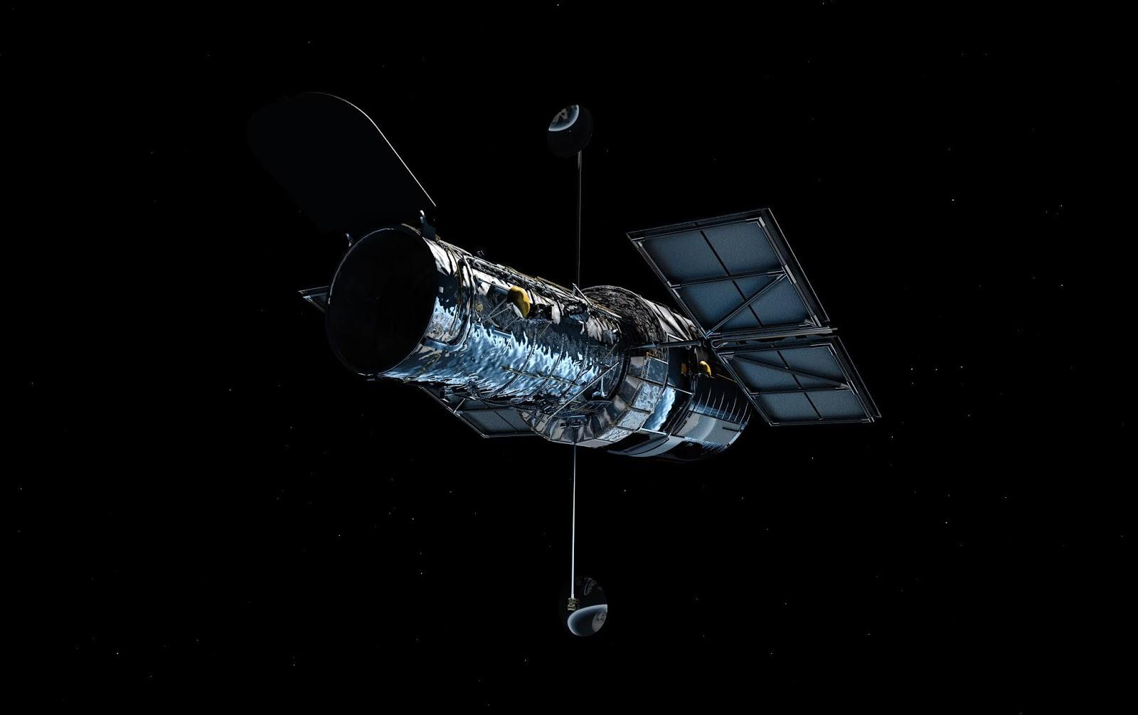 nasa building the hubble space telescope - HD1280×805