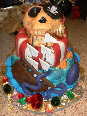 Oscar's 11th Birthday Pirate Cake