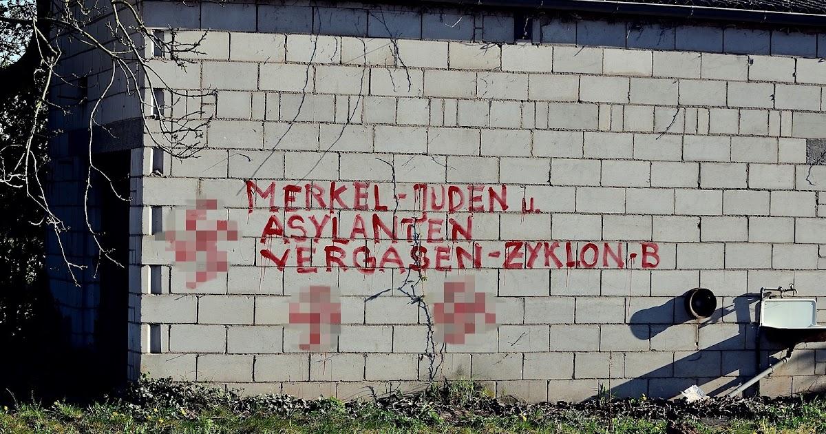 Antisemitic Graffiti In Heidelberg Monitoring Antisemitism Worldwide
