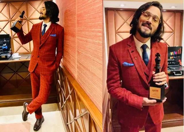 Bhuvan Bam win game changer by economic times award 2019