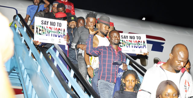 Xenophobia: South Africa May Place 10-Year Travel Ban On Evacuated Nigerians
