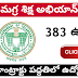 Samagra Shiksha Abhiyan Government of Telangana notification 2019 for SSA apply online