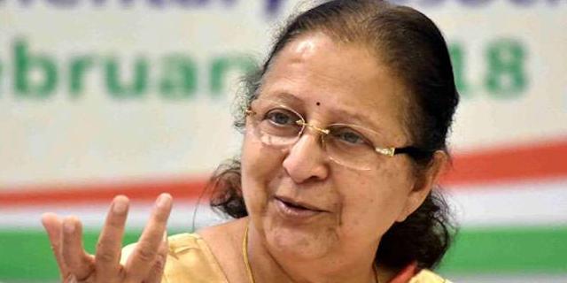आकाश विजयवर्गीय पर सुमित्रा महाजन ने बोला: जो गलत है, उसको गलत तो कहना पड़ेगा | INDORE NEWS