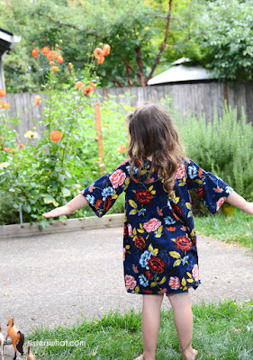 little girl whimsical dress tutorial