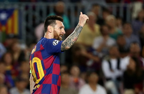 Messi vẫn là ngôi sao 5 cánh đá bóng số 1 hành tinh