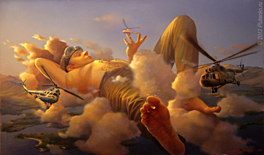 04-The-bothersome-Dragonflies-Stanislav-Plutenko-Surrealism-and-Futurism-in-Oil-Paintings-www-designstack-co