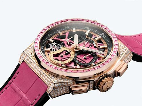 DEFY 21 Pink Edition de Zenith Ediición rosa
