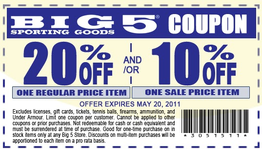 Big 5 Sporting Goods hours and Big 5 Sporting Goods locations along with phone number and map with driving directions/5(4).
