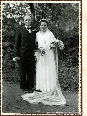 Mariage, A. Heurteux saint éloy les Mines, 63