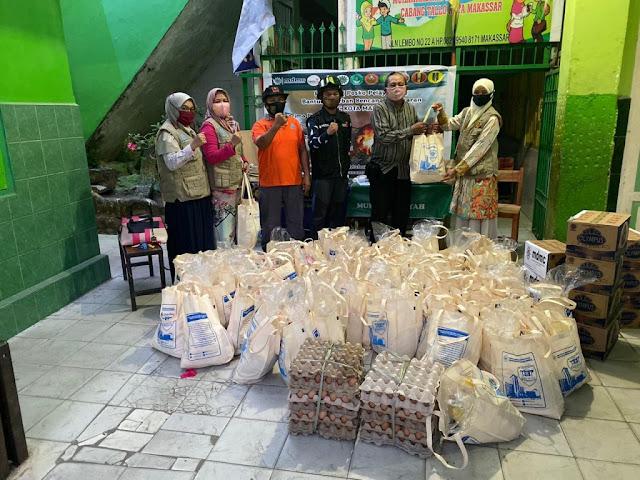 FKIP Unismuh Makassar Salurkan Bantuan untuk Korban Kebakaran Pannampu