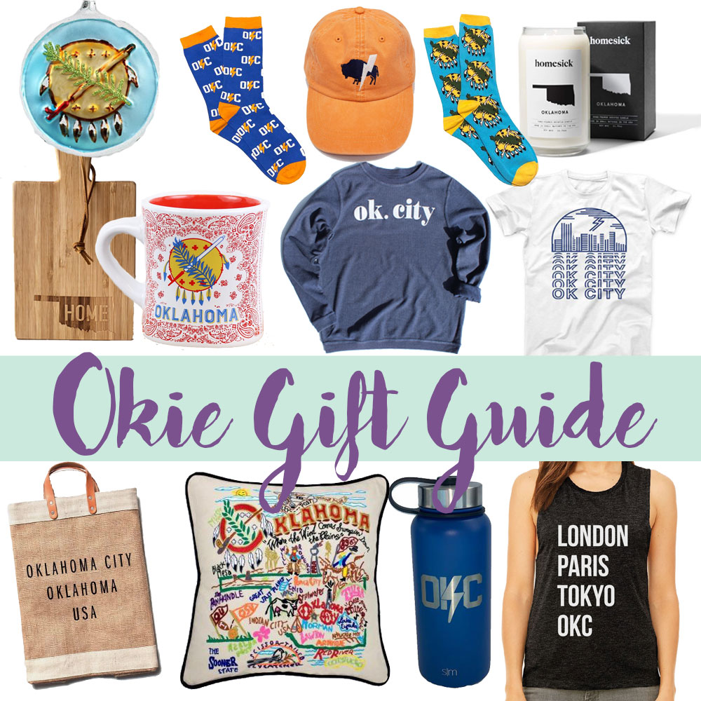 oklahoma themed gift guide by local blogger amanda martin of amanda's ok