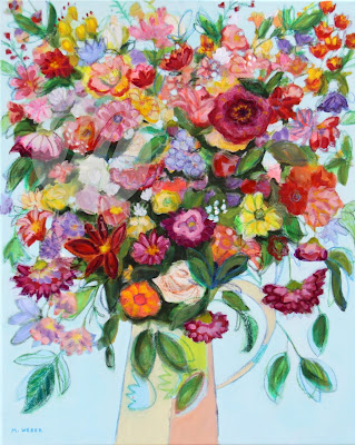 hello-happiness-mixed-media-floral-painting-merrill-weber