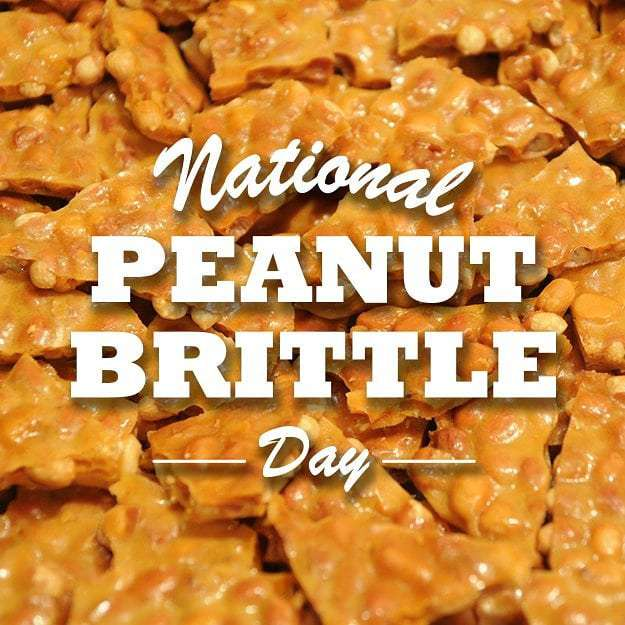 National Peanut Brittle Day Wishes Awesome Picture