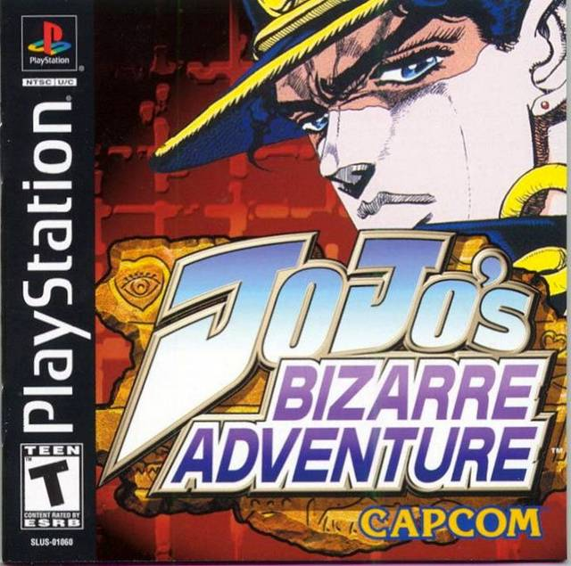 JoJos Bizarre Adventure - PS1 - ISOs Download
