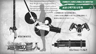 Benda Dan Hal Yang Sangat Ikonik Dari Berbagai Anime attack on titan