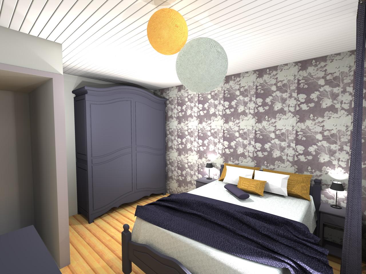 deco chambre adulte 2017. Black Bedroom Furniture Sets. Home Design Ideas