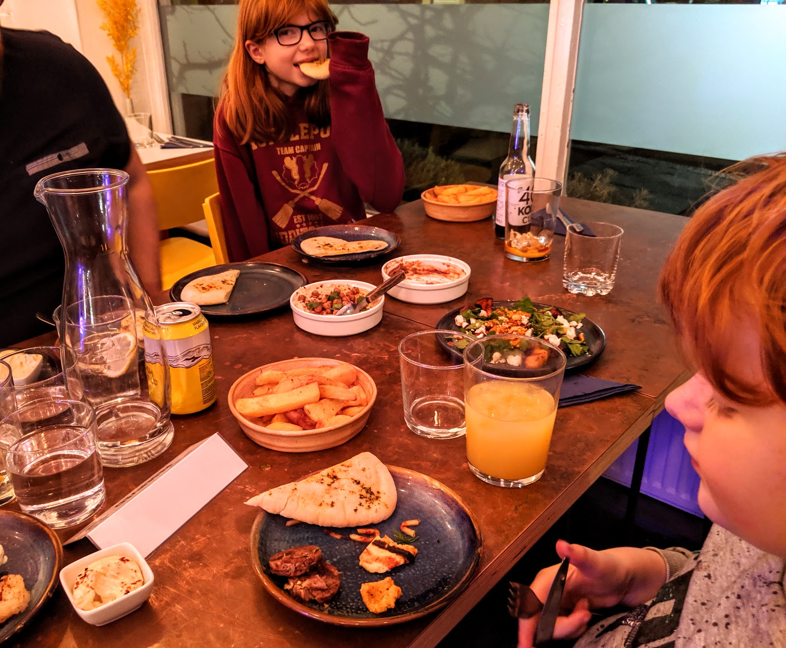 10 Reasons to Visit Harissa Kitchen, Newcastle  - mezze to share