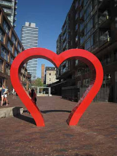 The Heart At Toronto's Distillery District