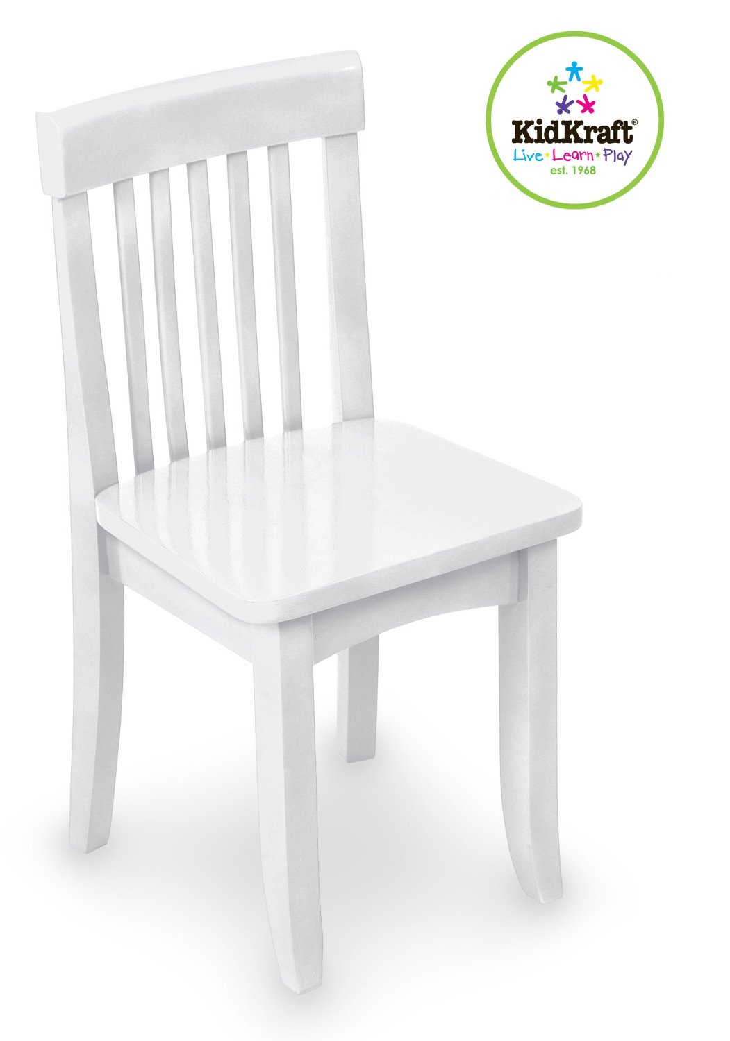 Kidkraft Avalon Chair Baby Sitting White 43 Gold Tried And True Tuesday