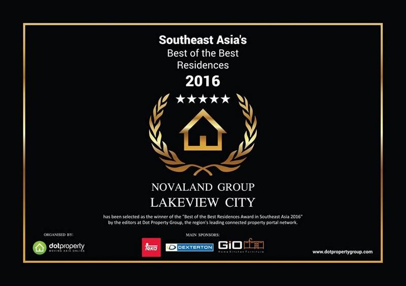 giải thưởng Lakeview city