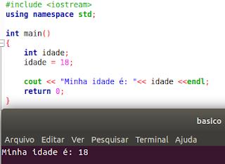 Variável em C++
