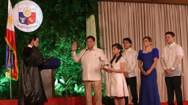 PRESIDEN FILIPINA BARU DI LANTIK 40 HARI SUDAH EKSEKUSI 30 PENGEDAR NARKOBA