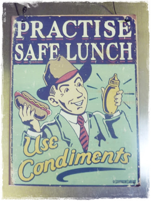 practice safe lunch