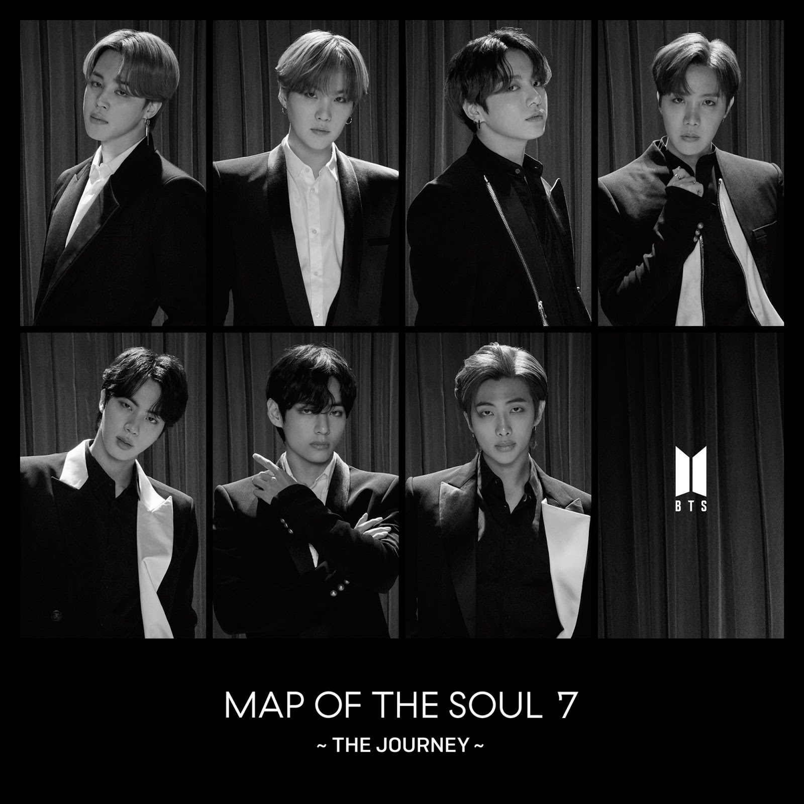 BTS Members Pose Together in The Teaser of The 4th Japanese Album 'Map of the Soul: 7 ~The Journey~'