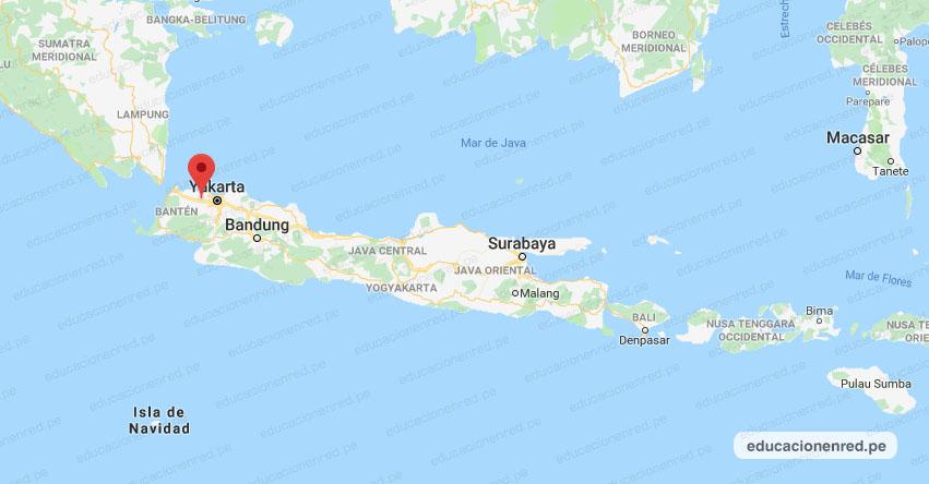 Terremoto en Indonesia de Magnitud 5.2 - Alerta de Tsunami (Hoy Sábado 13 Octubre 2018) Sismo Temblor EPICENTRO - Bitung Jaya - Tangerang - Bantén - Indonesia - USGS - www.earthquake.usgs.gov
