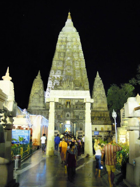 The Mahabodhi Temple, Bodhgaya.