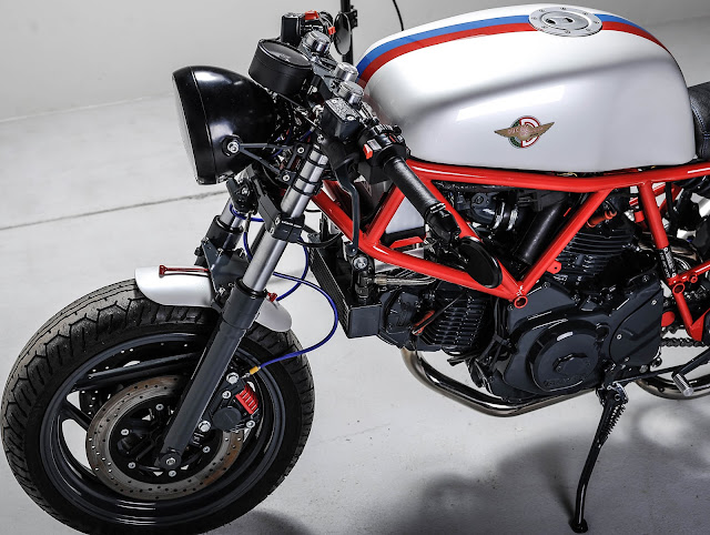 Ducati 750 Sport By Clutch & Brake Garage Hell Kustom