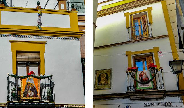 Decoração de Natal em Sevilha, Andaluzia