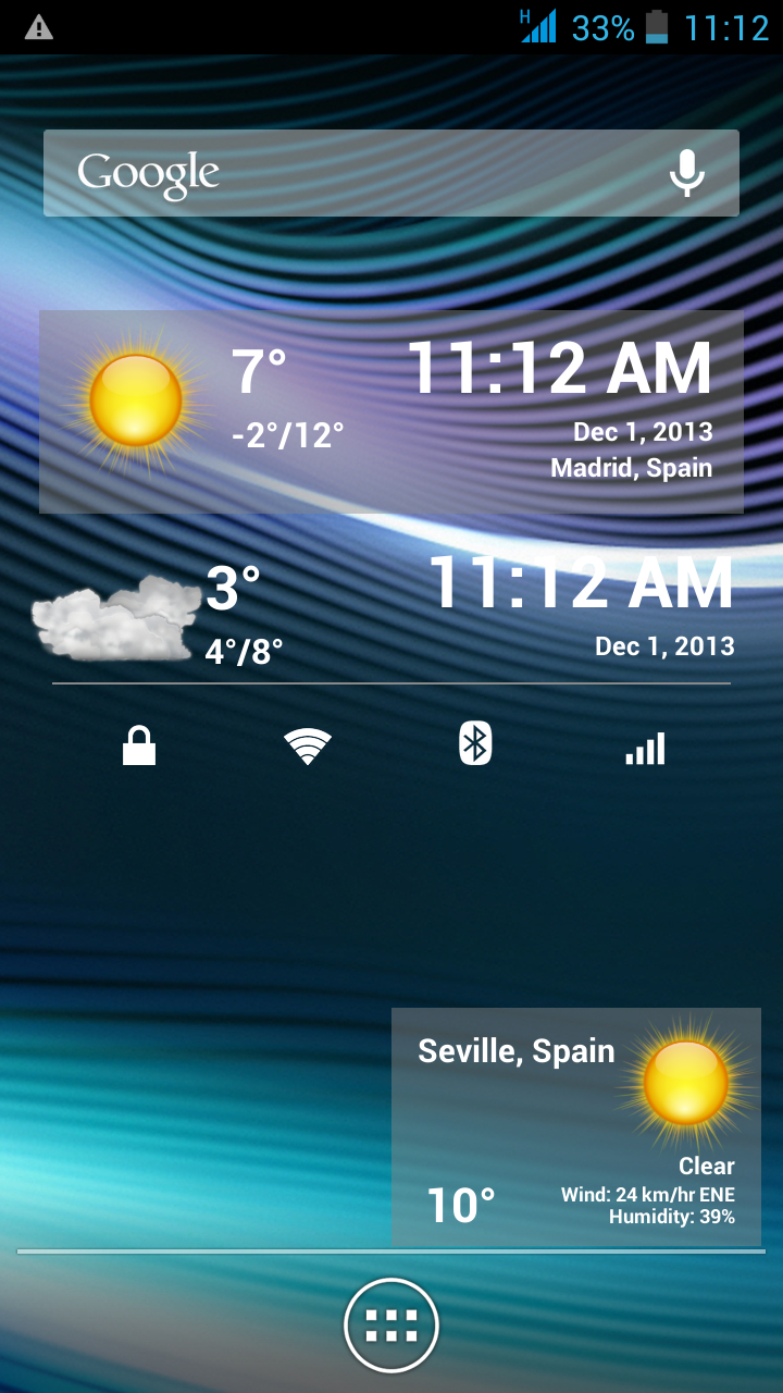 FREE APP][2 2+] Weather forecast - Android Forums at AndroidCentral com