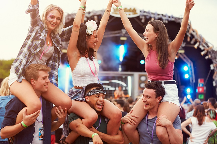 Get Paid on Attending Various Music Festivals, millennial job