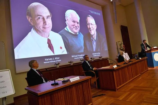JUST IN: 2020 Nobel Prize In Medicine Awarded To Scientists Who Discovered Hepatitis C Virus
