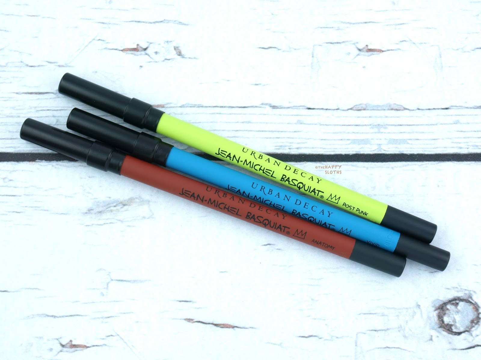 Urban Decay x Basquiat Collection | 24/7 Glide-On Eye Pencil: Review and Swatches