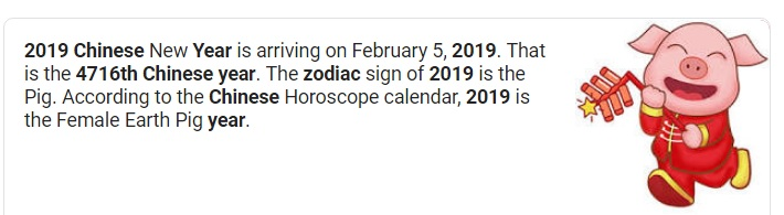 Decoding Satan: 2019 the year of the pig #ChineseCalendar
