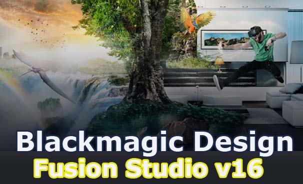 Blackmagic Design Fusion Studio v16.2