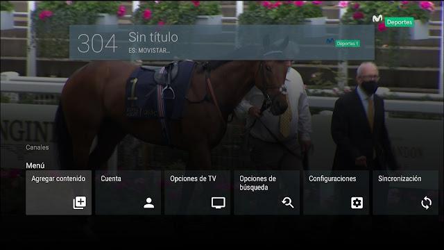 Agregar enlaces ID Acestream a AndroidTV