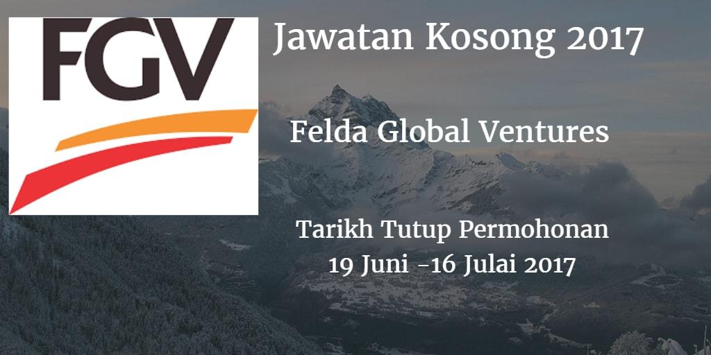 Jawatan Kosong FGV 19 Juni - 16 Julai 2017