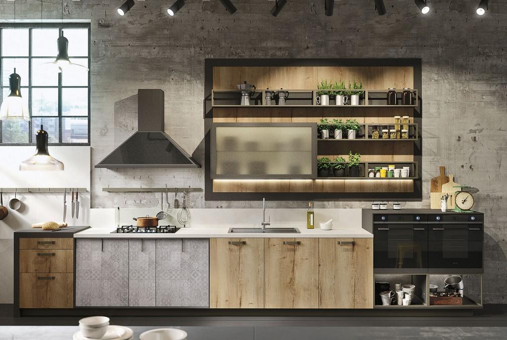 Famoso Loft by Snaidero: lo stile industriale reinventa la cucina WS82