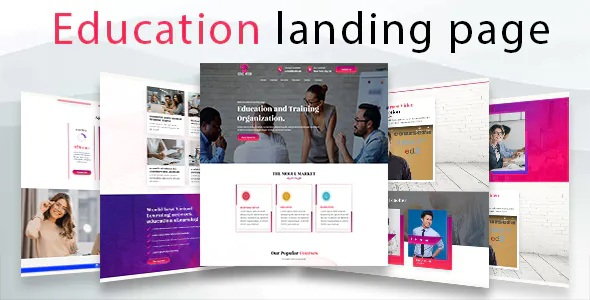 Best Education Landing Page Template