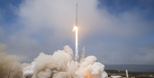 Falcon 9 launch of the Formosat-5 mission. Photo Credit: SpaceX