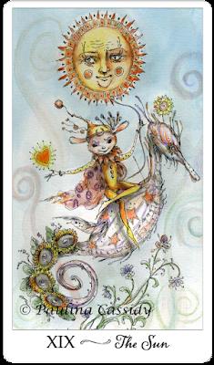 Joie De Vivre Tarot Paulina Cassidy  The Sun