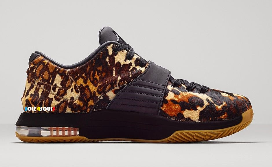 size 40 664ef 2789d Nike KD 7 EXT QS Leopard. For Sale   PRE - ORDER Size   US 7,8,8.5,9,9.5,10,10.5,11,13.  Condition :Brand New With Box Price   MYR 1225   USD 350 (Shipping ...