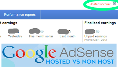 Adsense Hosted vs Non-Hosted Account