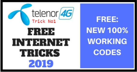 New Letest Telenor Free Internet Proxy Trick 2019 working