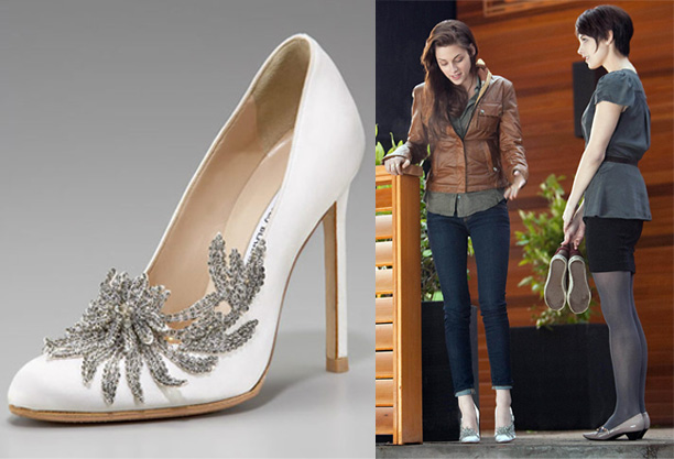 Bella S Wedding Shoes From Twilight
